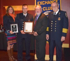 Windsor Volunteer Fire Dept's Lt. John Desrosiers Honored
